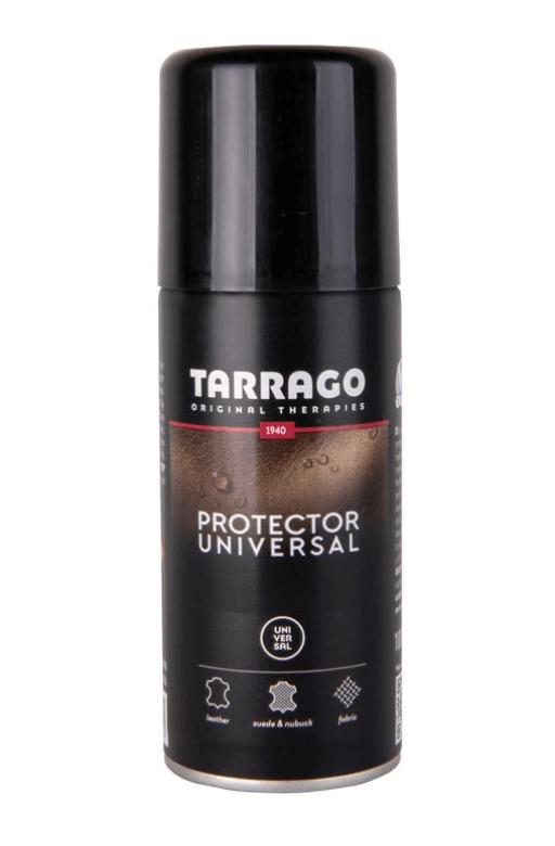 Tarrago Protector Universal 防水防污噴霧 適用於光滑皮革、磨砂皮、絨皮、麂皮、Gore tex、布料紡織品等材質,避免噴在金屬配件上。