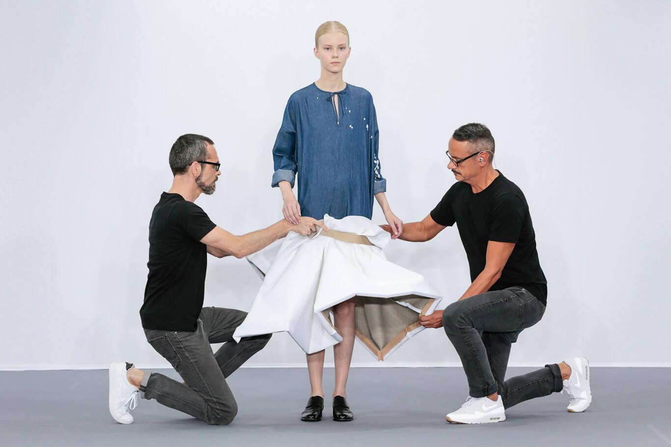 Viktor & Rolf是其中一個宣布專注高級訂製服的設計師品牌。