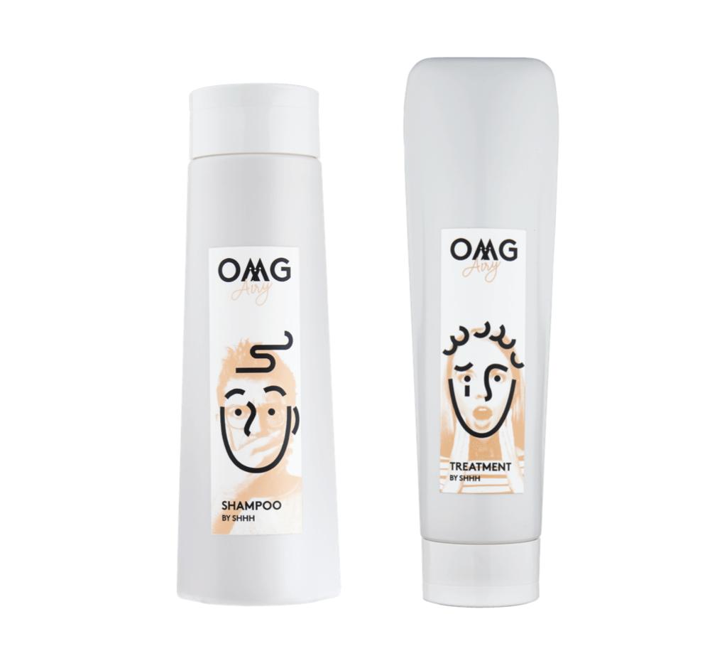 OMG Airy Set HK$810 含有上面提及的植物成分,排毒同時以透明質酸、膠原蛋白及植物幹細胞等增強髮絲結構、彈性與強韌度。濕氣重或落雨時頭髮不易扁塌,保持清爽空氣感。