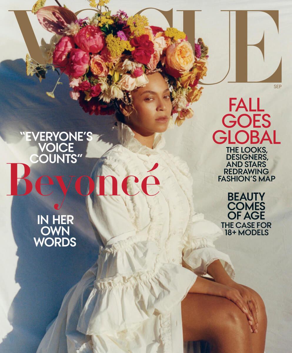 二〇一八年涉事《Vogue》封面