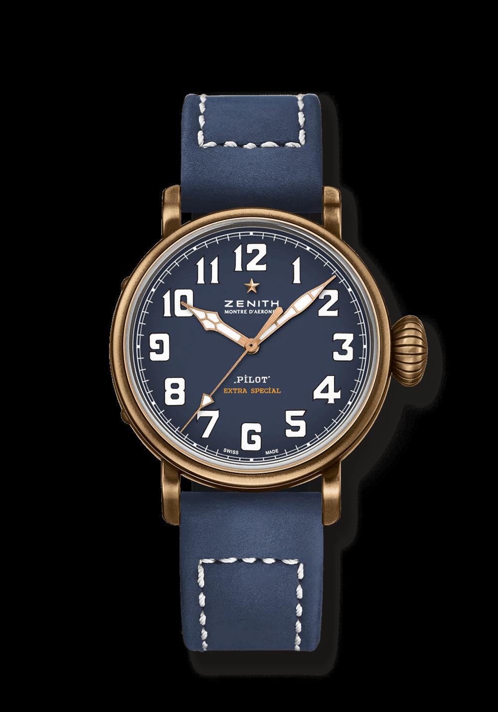 PILOT TYPE 20 EXTRA SPECIAL腕錶($49,200, Zenith)