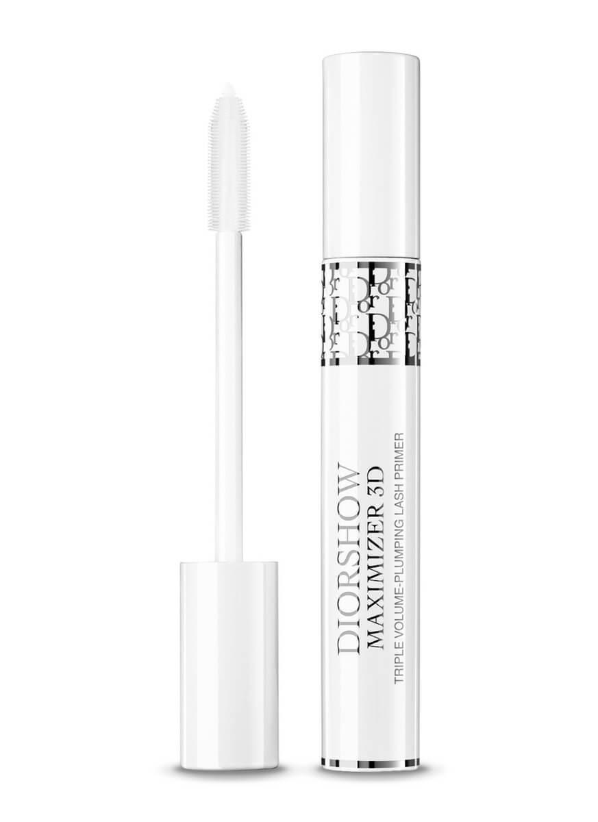 Dior DIORSHOW 豐彩精華3D睫毛修護底霜 HK$300 蘊含Pure White精華,此款底霜強調睫毛的豐盈與顏色。其濃縮精華油能修護及提昇睫毛外表、厚度及捲曲。可於塗睫毛液前使用,增加豐盈效果;或用作促進睫毛生長的夜間護理。