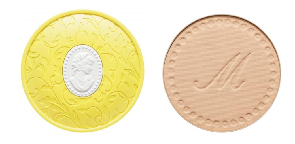 Les Merveilleuses LADURÉE持久透白粉餅 $335 含有幼細的藍珍珠粉末與淺藍色的防紫外線粉末,有助修飾膚色泛紅及偏黃問題、突出胭脂顏色,呈現出白裏透紅的肌膚。