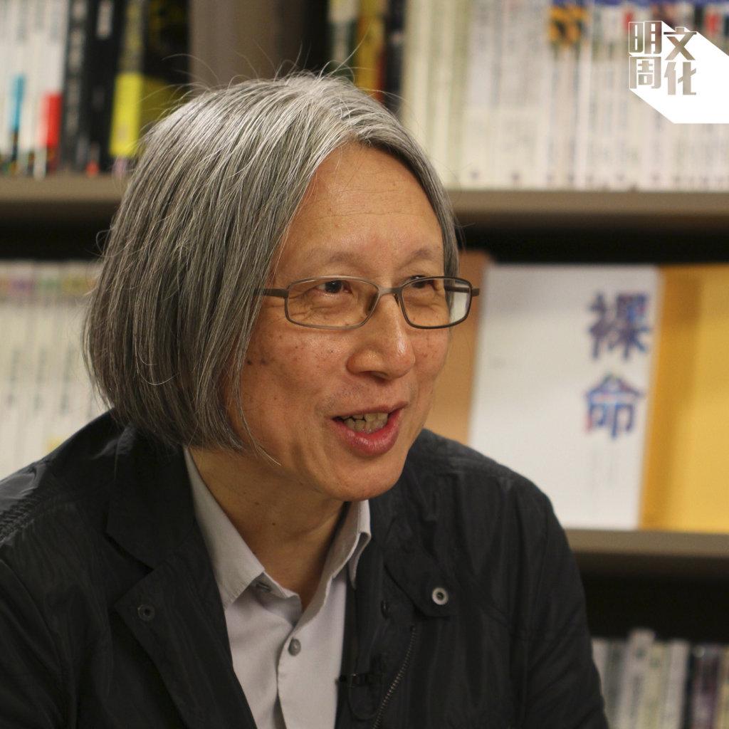 陳冠中住在北京多年,持續書寫他的中國故事。