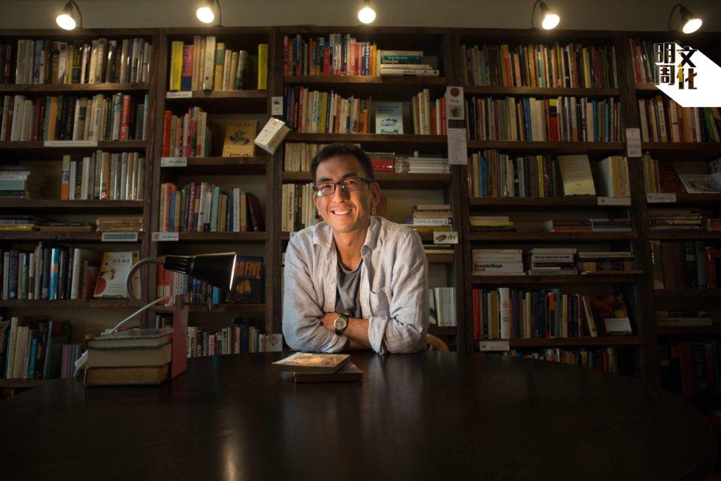 Bleak House Books店主Albert Wan(溫敬豪)