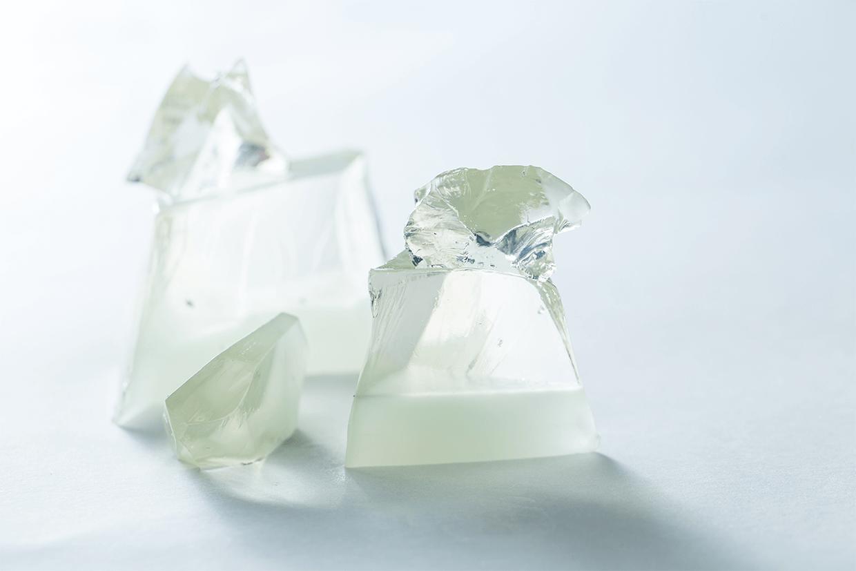 堆疊而起的冰川,能令你感受到沁涼快意嗎?