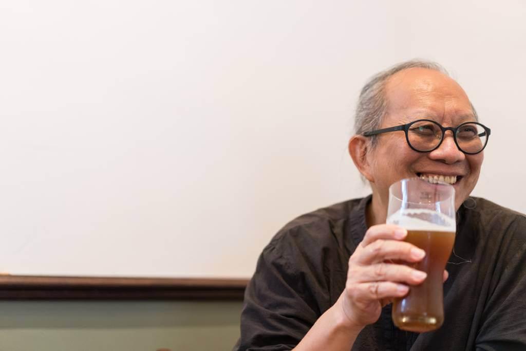 葉榮枝笑言,當初為了生意才想出茶啤,沒想到竟釀出樂趣來。