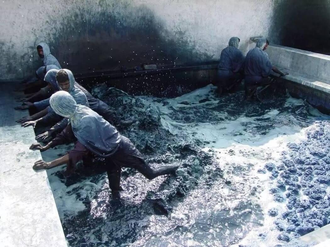 牛仔褲是時尚產業中數一數二高污染的產品。