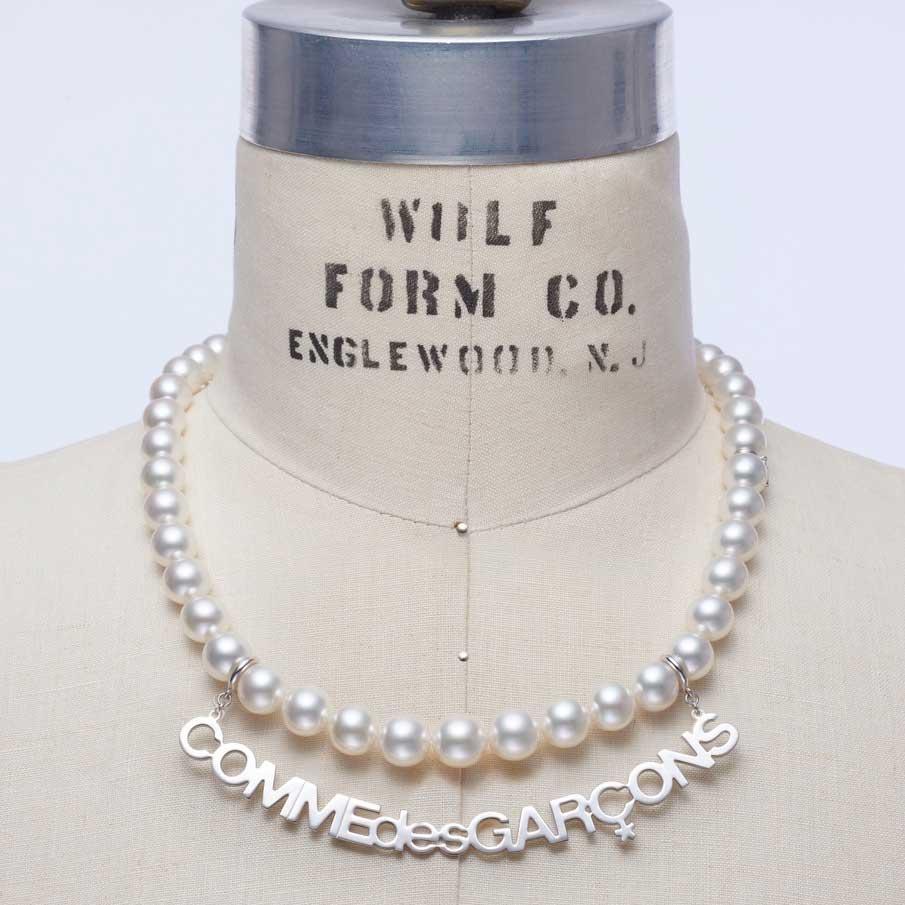 COMME des GARÇONS X Mikimoto珍珠鏈首飾