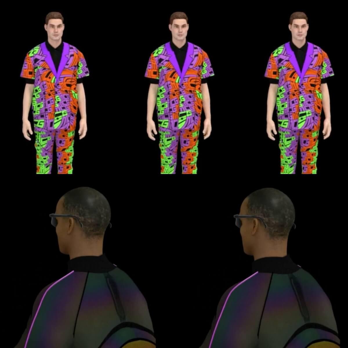 3D動畫展示更是現在呈現時裝作品的新潮流。