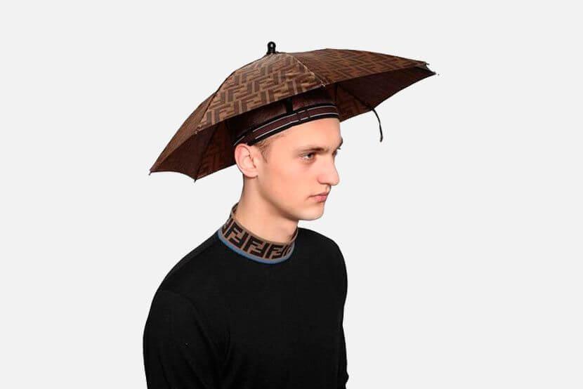 FENDI 雨傘帽