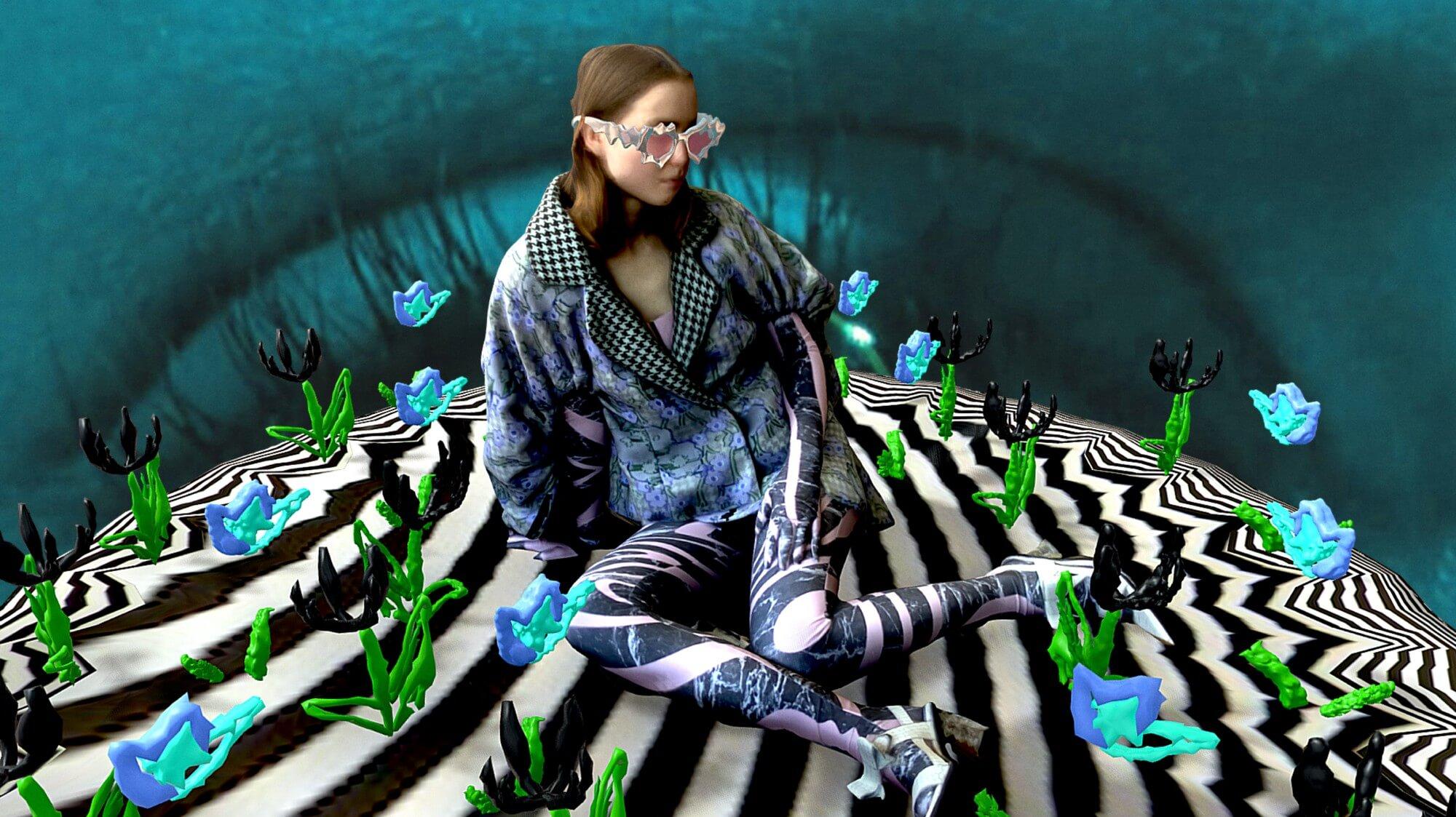 3D排版和動畫對時裝學生而言,已經是「手版眼見功夫」。