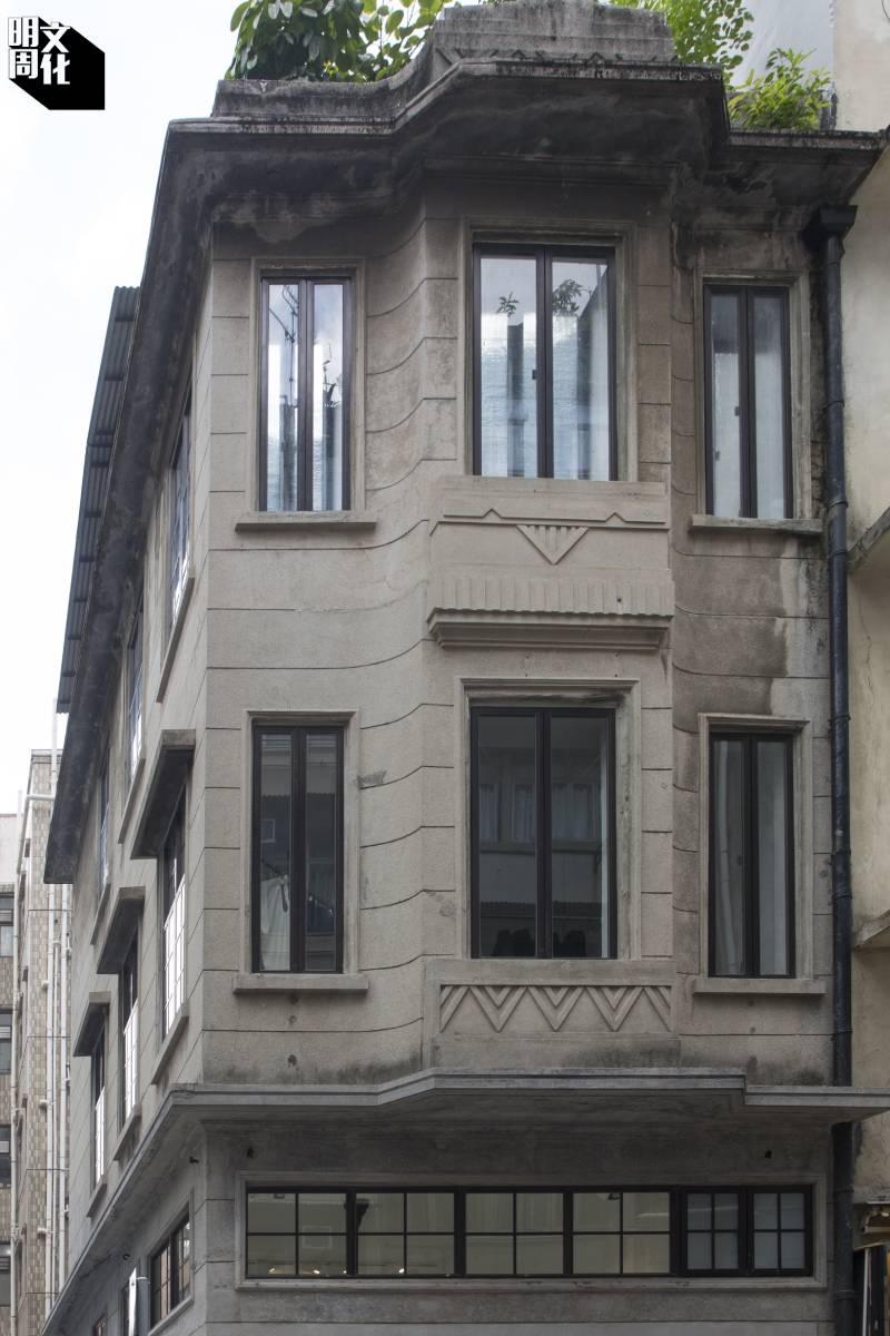 位於大坑第二巷的戰前唐樓是第三級歷史建築