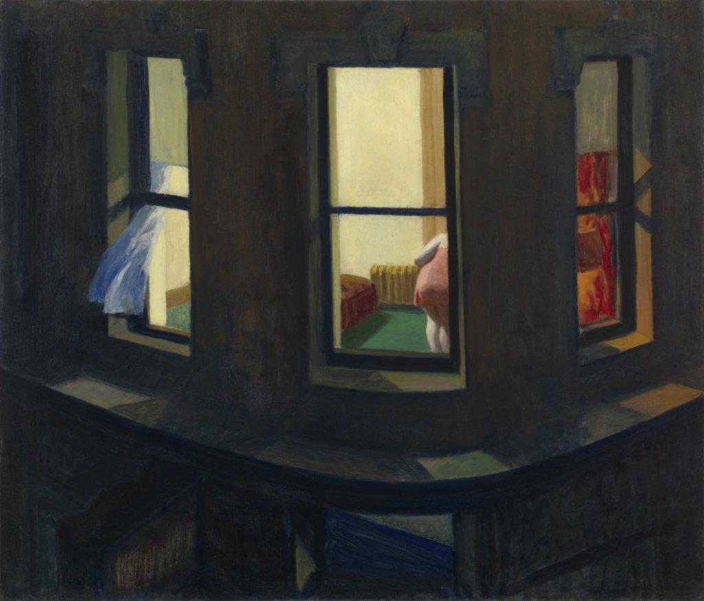 《Night Windows》 1928