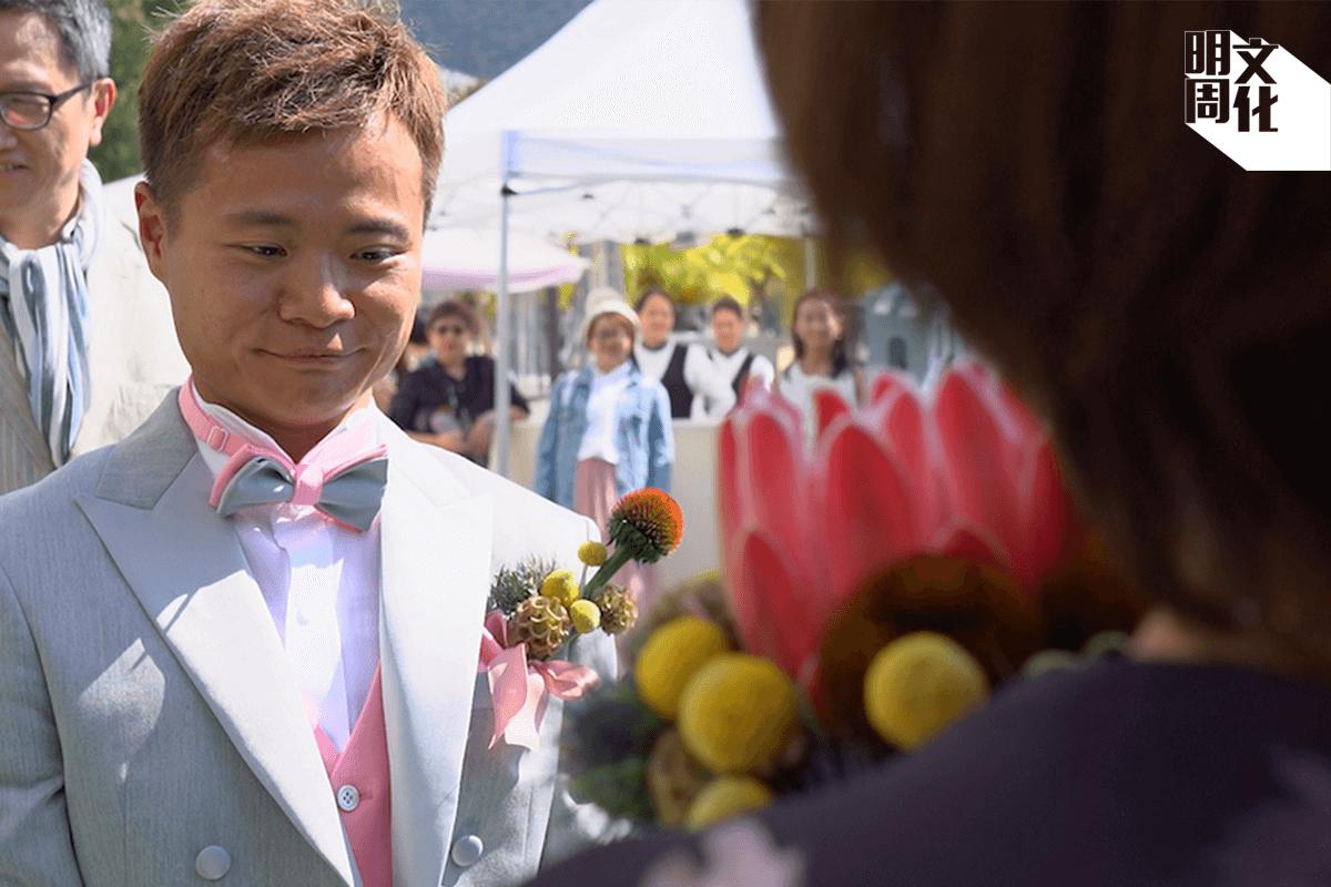 媽媽答應出席婚禮那一刻,Sho覺得人生最困難的一切都過去了。