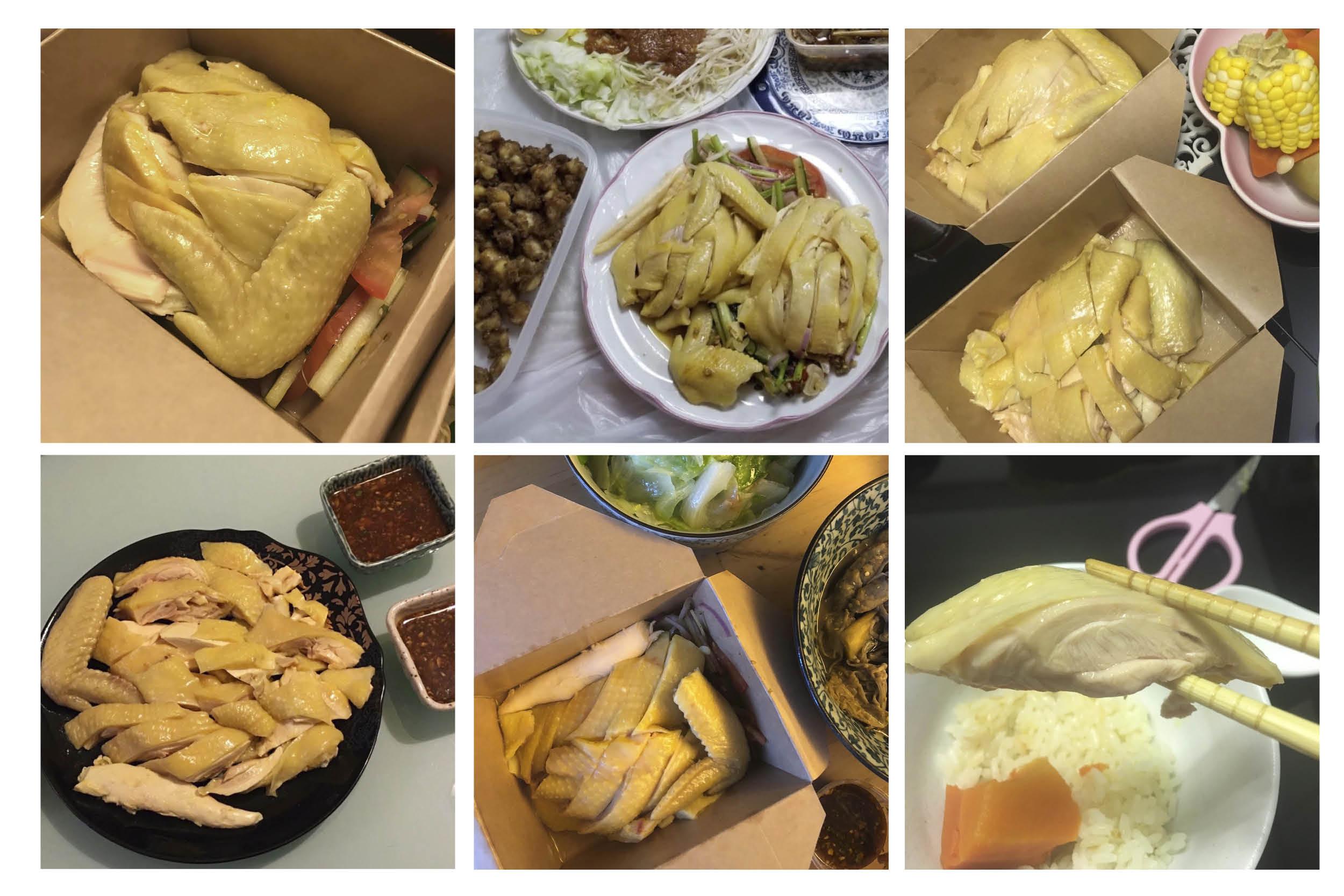 餐廳水門泰式海南雞飯亦有自行籌備「做雞做上門」地區直送團,太古亦是其中一個直送點。當晚即有街坊在群組內分享意見及美食圖,引誘更多街坊「跟機」團購。