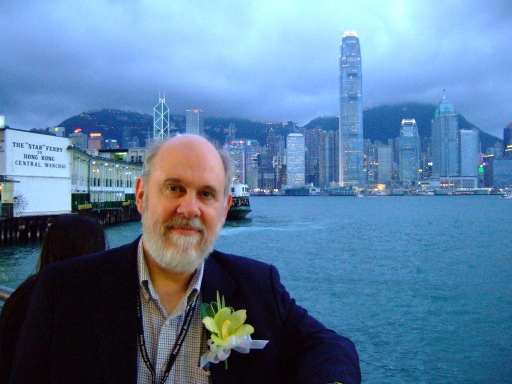 David Bordwell在香港 圖片由受訪者提供