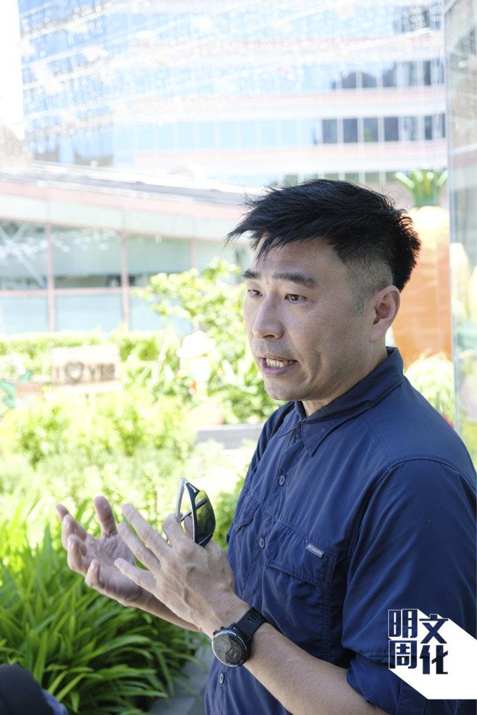 社會企業「雲耕一族」(Rooftop Republic)創辦人徐伽