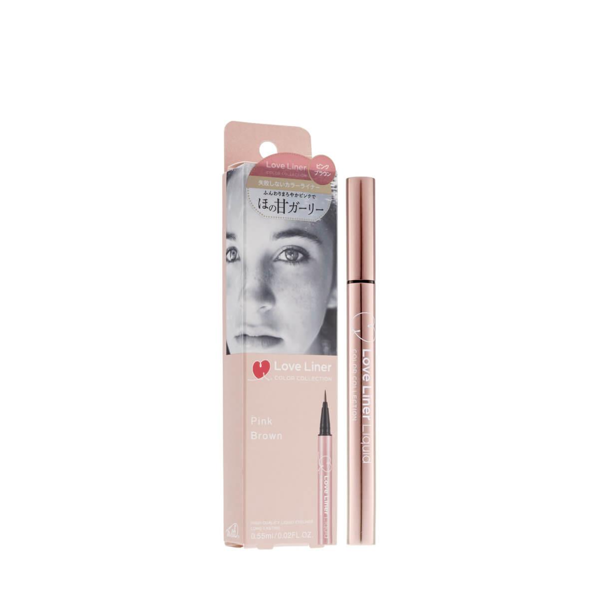 Love Liner 防水極細眼線液 HK$ 強效抗汗、皮脂,卻可用温水乾淨卸除。眼線液中添加了美容保養成分,温和不刺激,而且不會有惱人的色素沉澱問題。