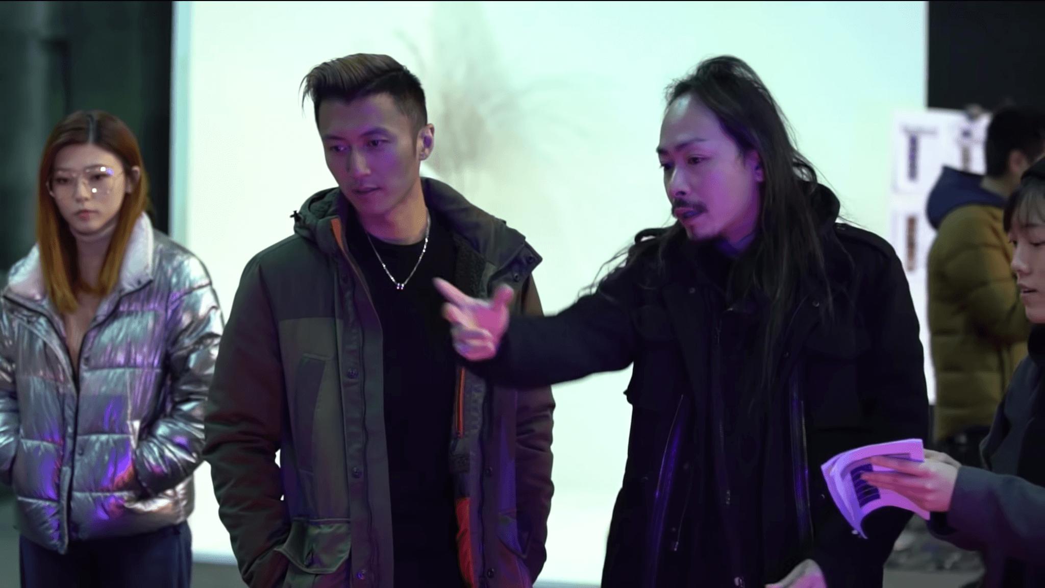 Chloe幫謝霆鋒拍攝〈放肆〉MV時,與歌手和導演皆合作無間。