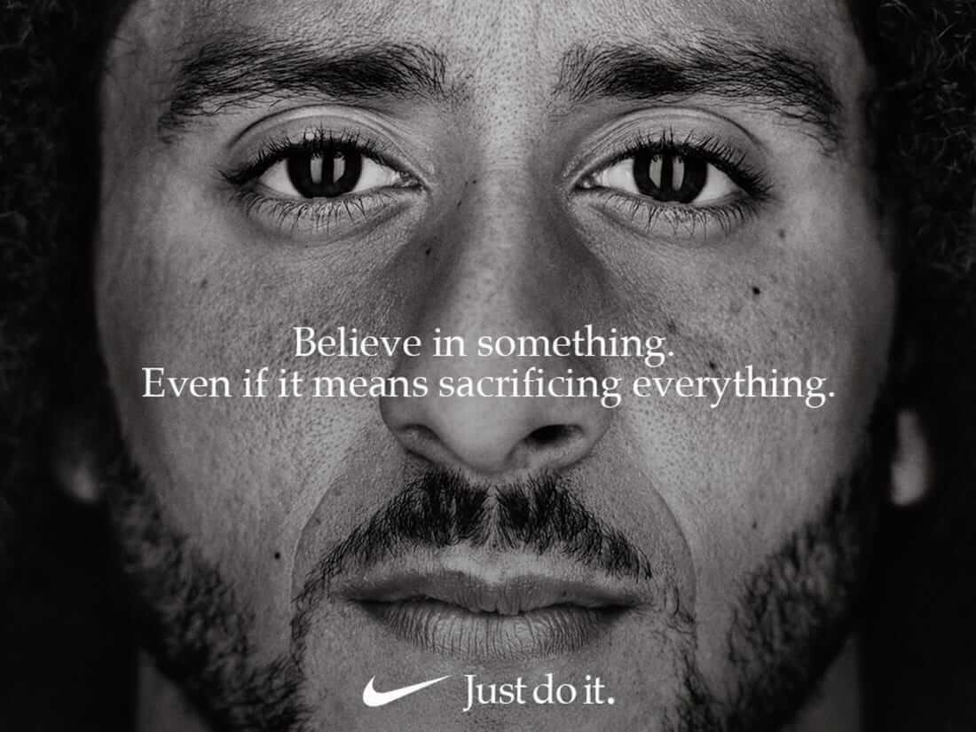 Nike一向在廣告中關注種族平權議題。