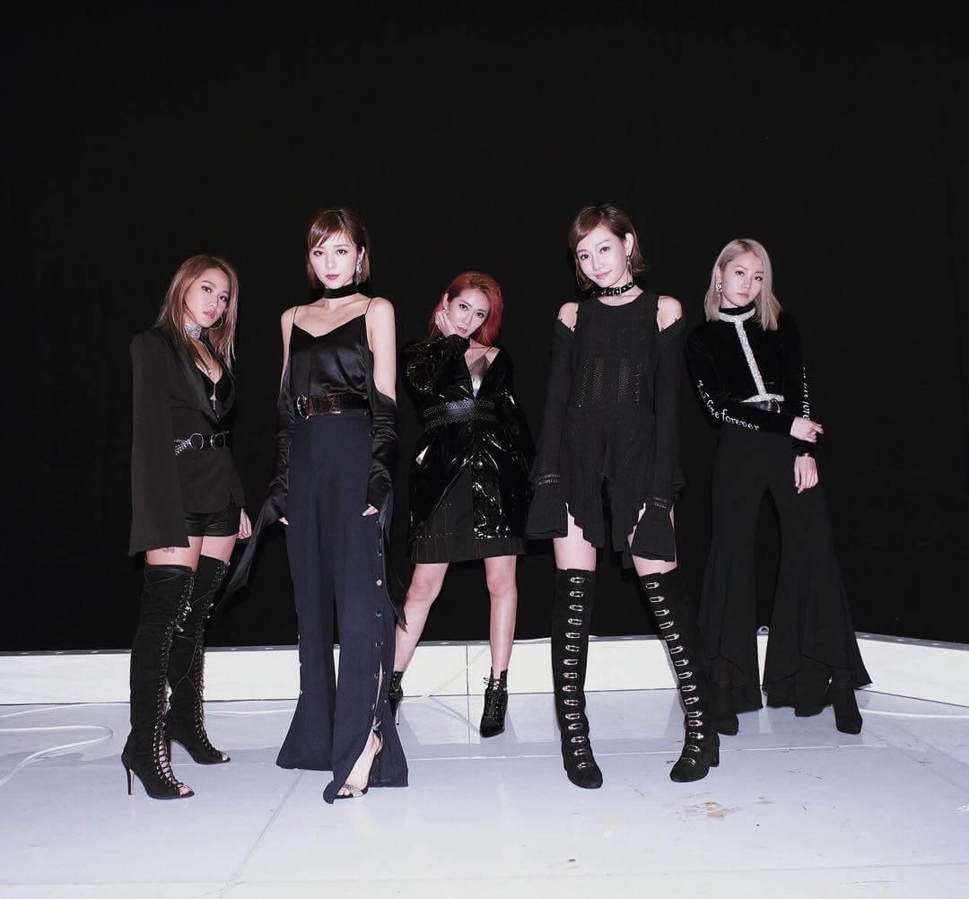 組合比獨立歌手的造型設計有更多需要注意的細節。(圖為Super Girls)