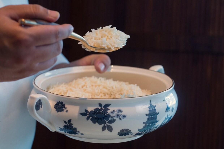 香料印度香米 // 一個價錢白飯任裝,湊米氣的你怎麼可以不來一勺?($48)