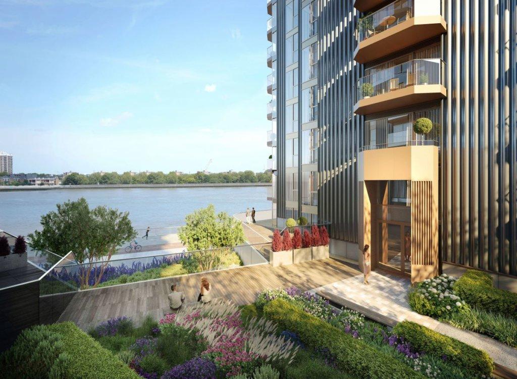 West Quay - Compass Wharf位於泰晤士河畔,擁有廣闊的臨河和園林景觀、便捷交通和完善生活配套,帶來高品質生活享受。