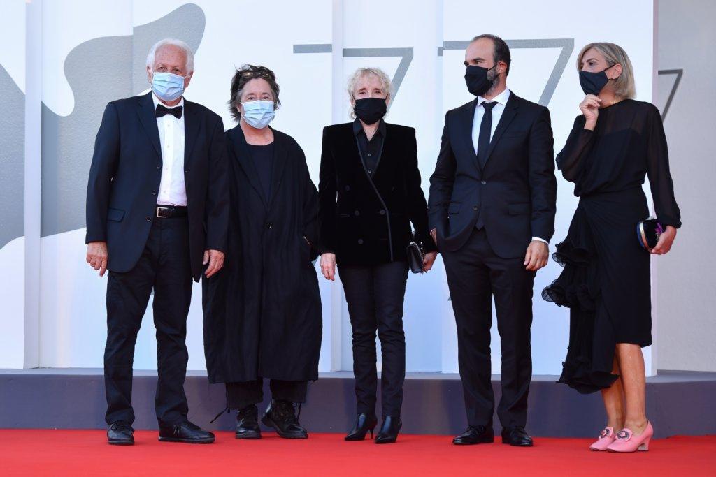 威尼斯影展地平線單元評審團在紅地毯