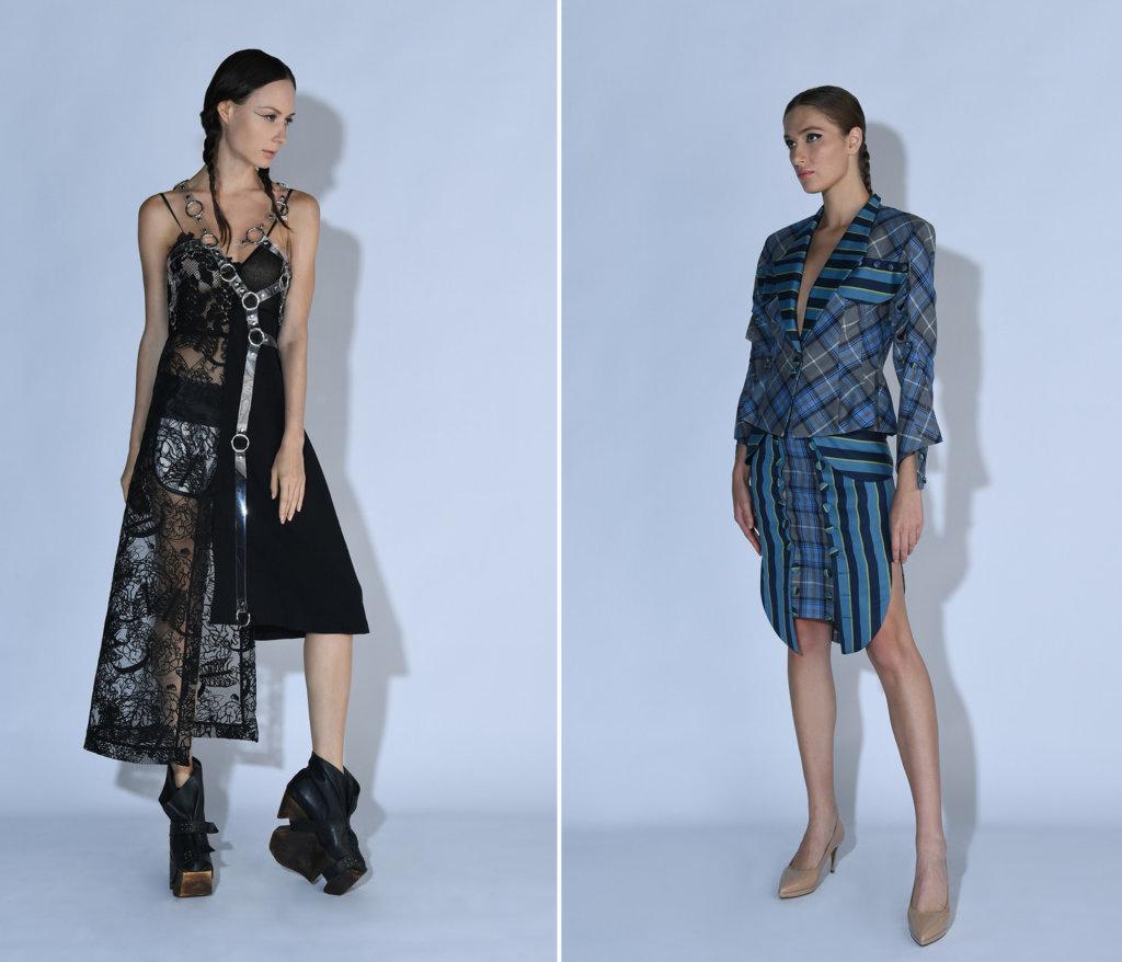 (左起)YEUNG CHIN(設計師:Yeung Chin) Bettie Haute Couture(設計師:Bettie Jiang)