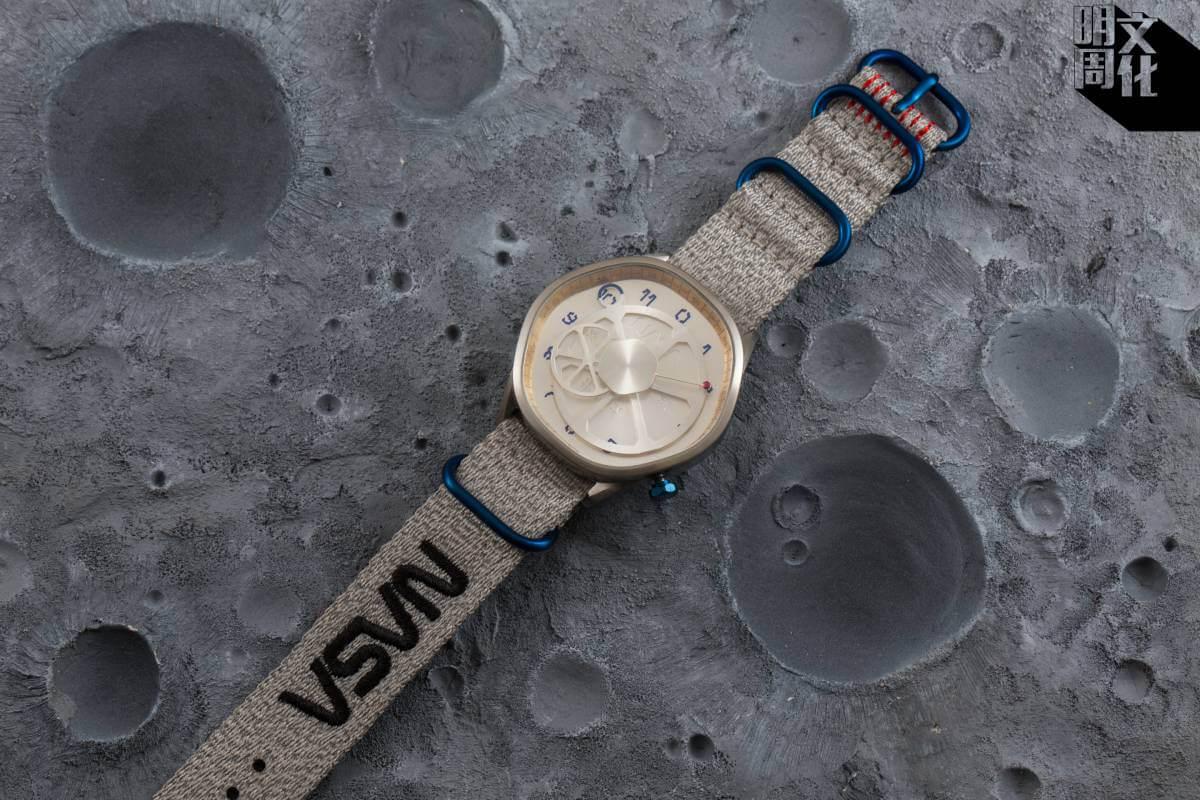 是次是Anicorn跟NASA合作的第三隻手錶,幾款產品都限量發售,而且極速售罄。