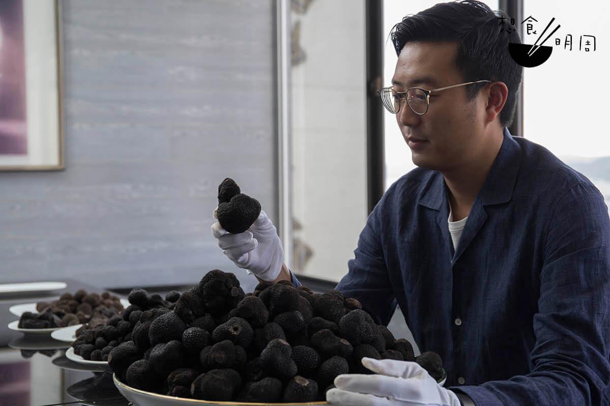 王盛預料,下一批的澳洲冬季黑松露訂單數量一定會更多。