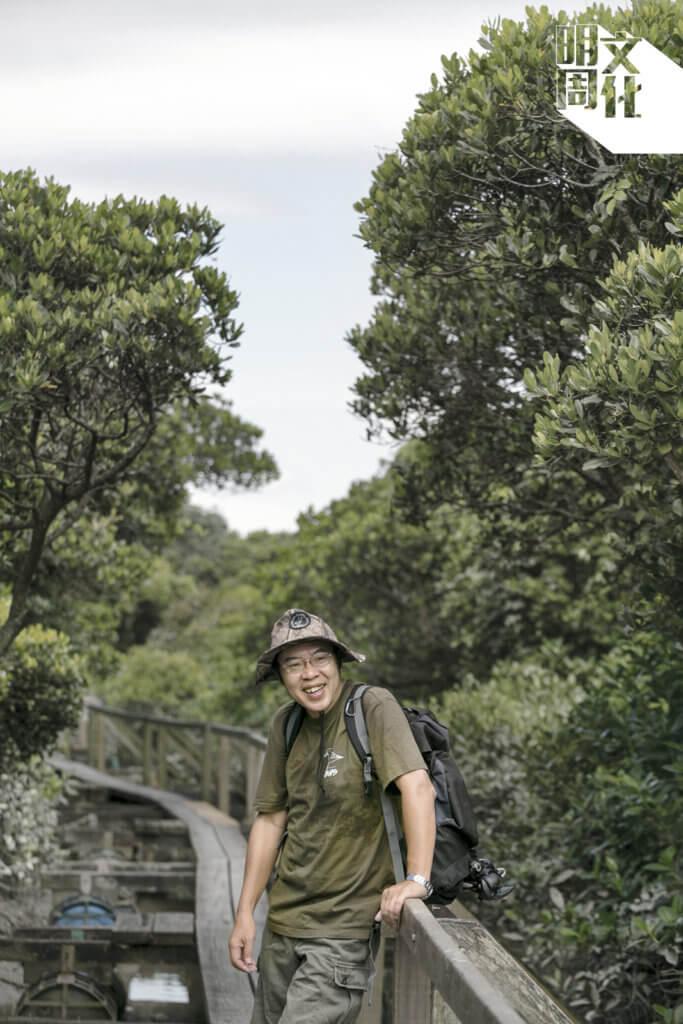 香港觀鳥學會項目主任吳文正(Austin) 在十年前開始從事生態保育工作。