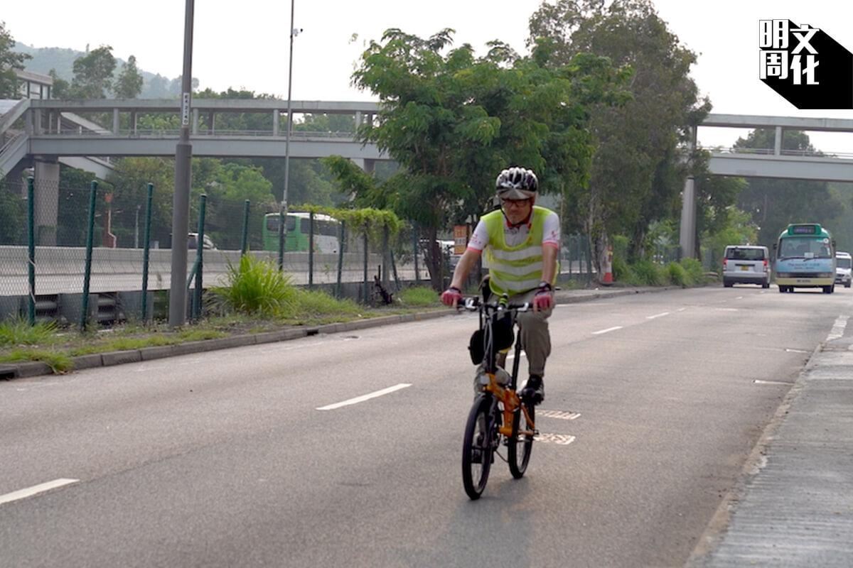 單車不止是一項運動或消閒活動,也是政府認可的交通工具。