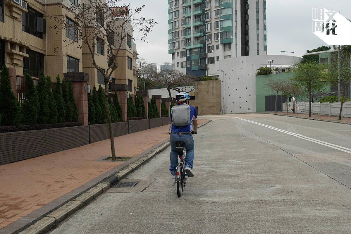 由大圍踩單車去觀塘返工,實測做得到。