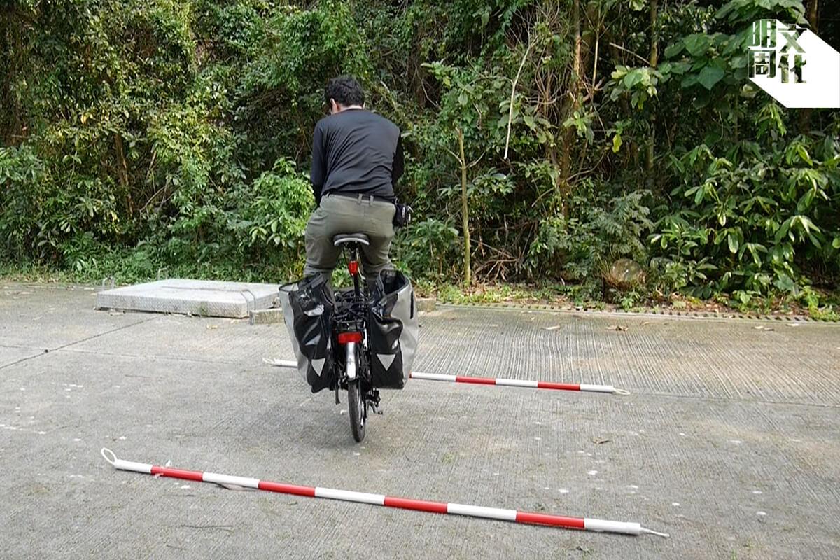 窄位調頭是基本功,建議練習好才踩出馬路。