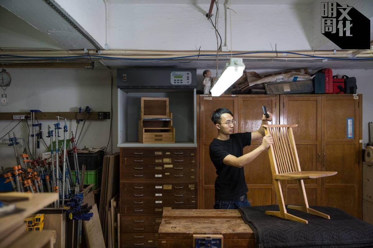 「一木工房」的周健龍(Ken)