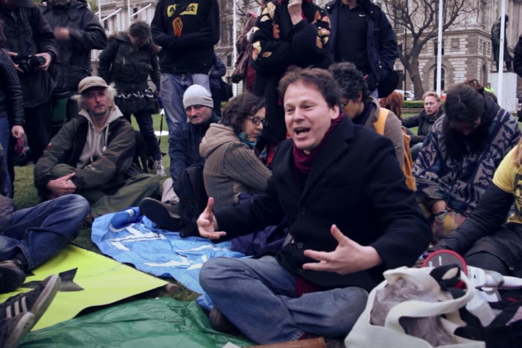 David Graeber是「佔領華爾街」運動組織者之一