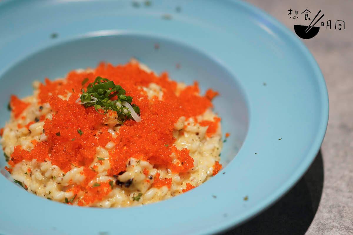 魚米粒粒fishotto // 大小如意大利riosotto,入口卻是彈牙帶鹹香。六時才供應。($78)