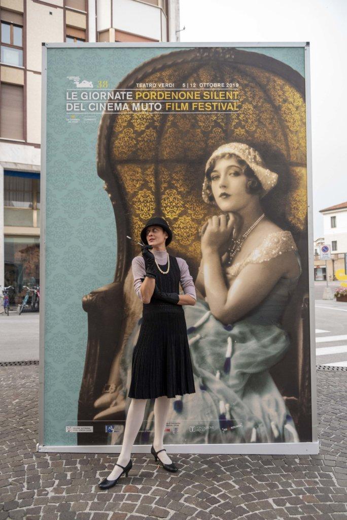 觀眾將自己打扮為Marion Davies(圖片由電影節官方網站提供)