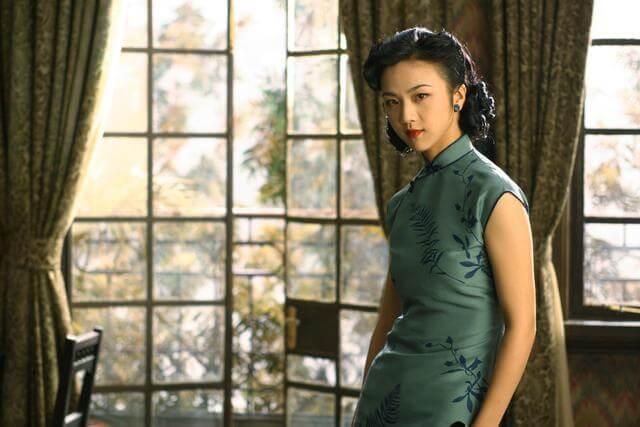 湯唯在《色戒》中飾演王佳芝