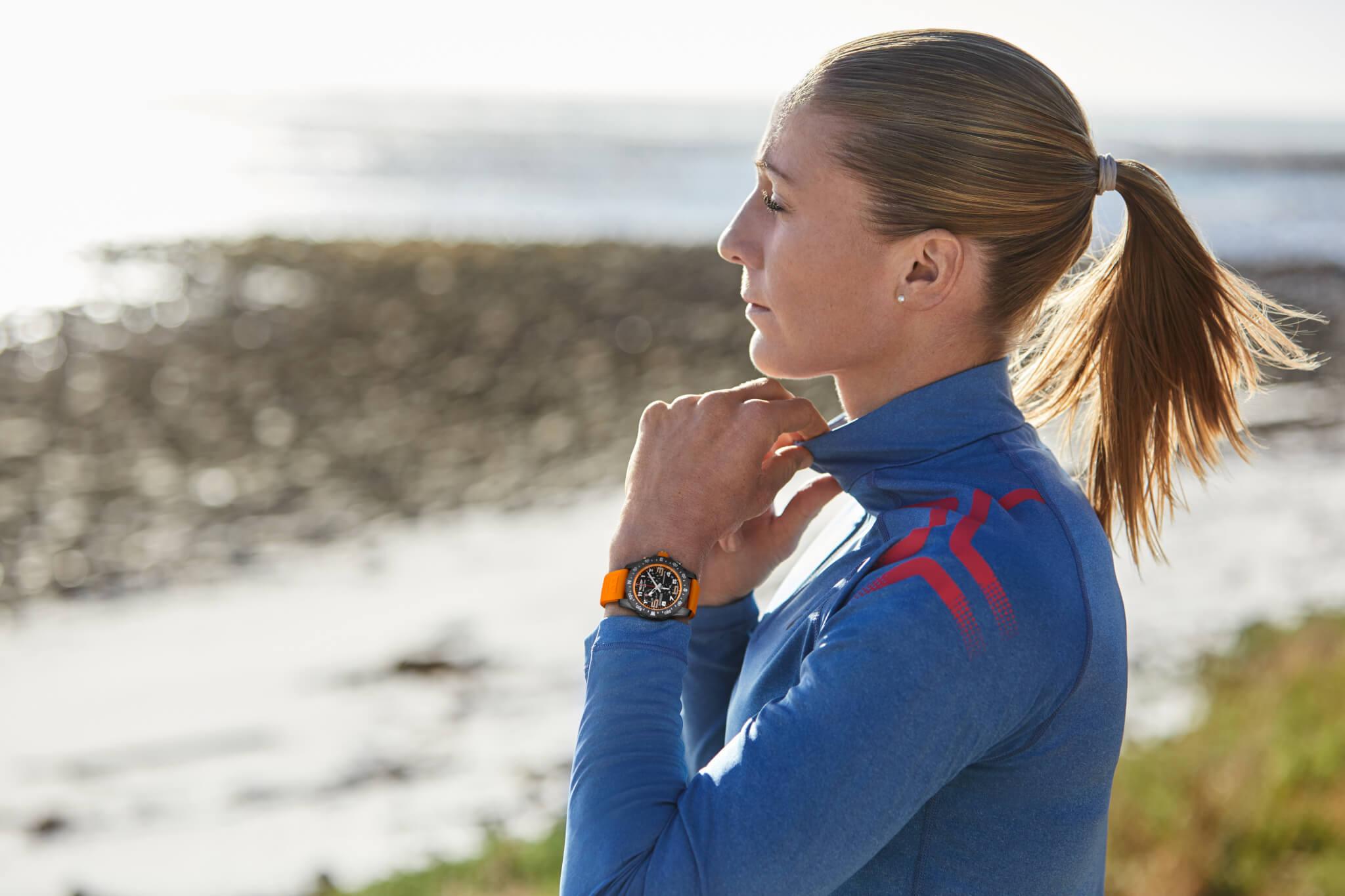 Triathlon Squad member Daniela Ryf wearing the new Endurance Pro