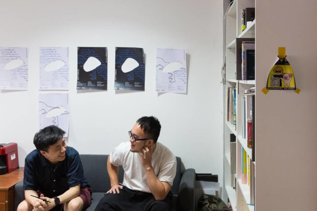MAJO Design創辦人姚天佑(左)和蔡嘉宏(右)