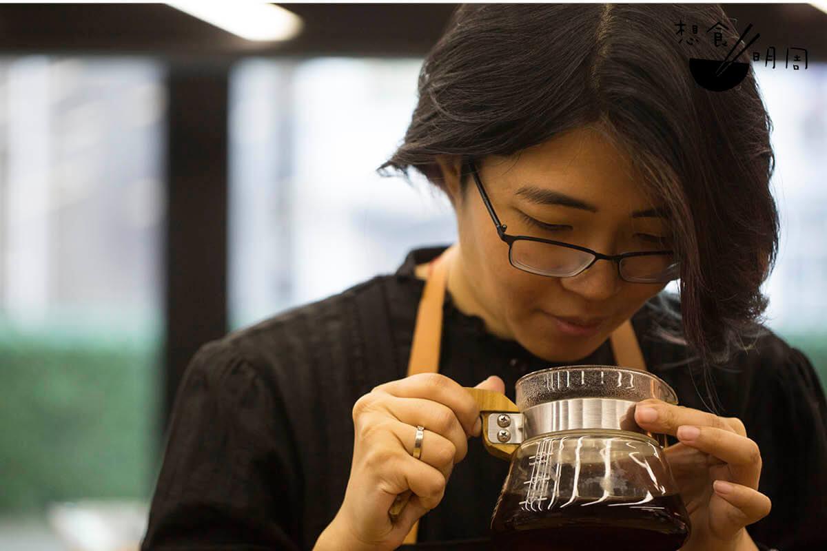 Cecilia認為,每個地方,甚至是每個人,對味道的理解都不一樣,因此每個城市都應該有自己的咖啡風味輪。