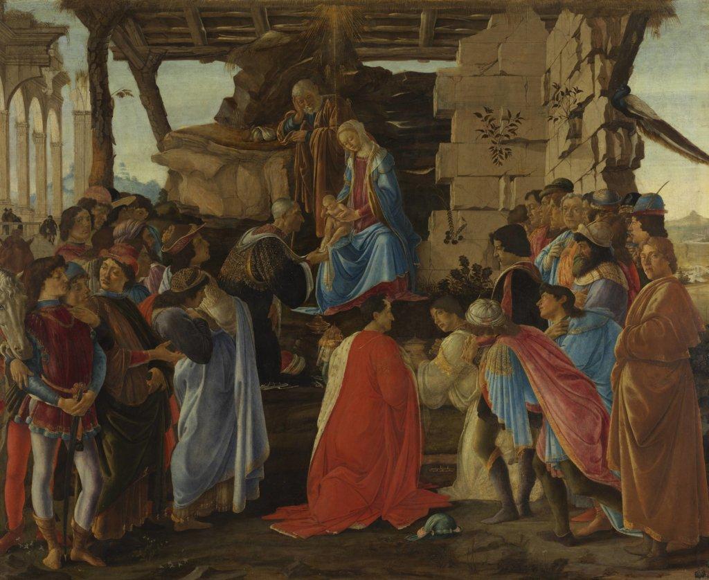 Sandro Botticelli, Adoration of the Magi (Lami Adoration), 1474 – 1475, Florence, Gallerie degli Uffizi