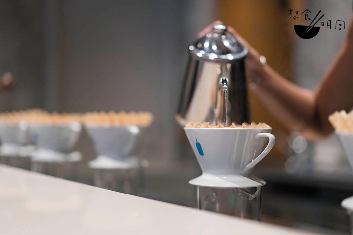 手沖咖啡吧,可謂藍瓶咖啡的靈魂所在。