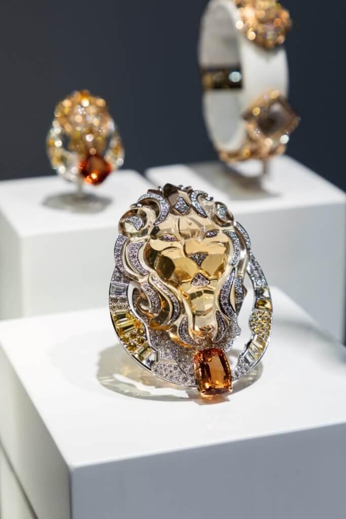 Le Signe du Lion系列鑽石胸針