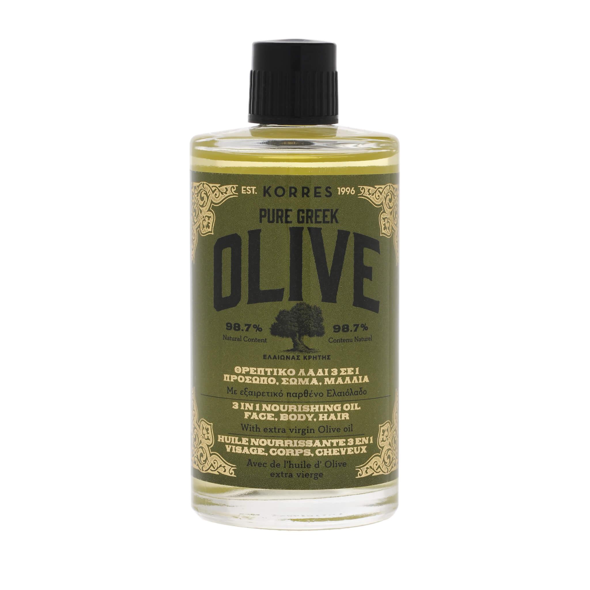 KORRES 希臘橄欖保濕多用精華油 $299/100ml