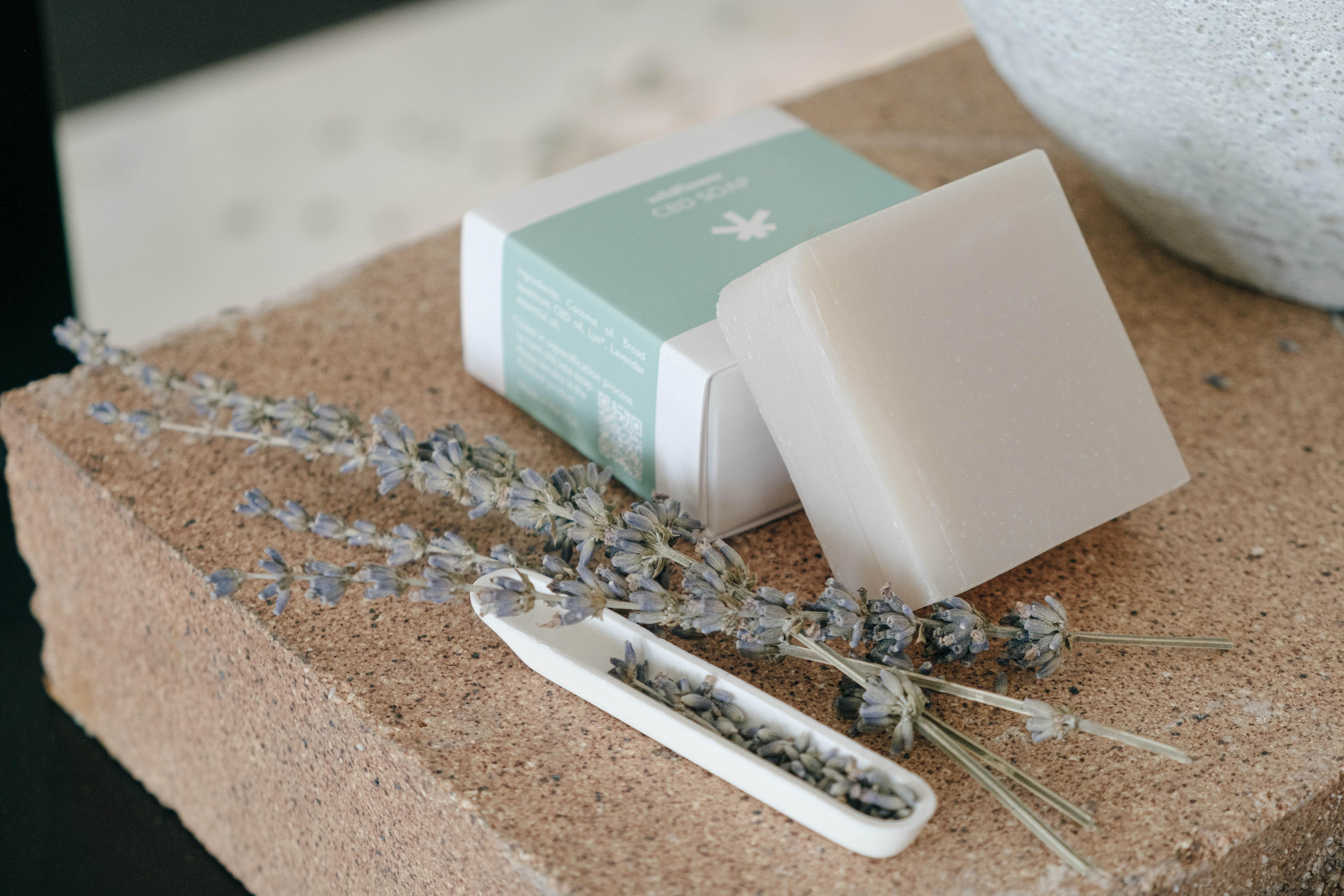 Wildflower CBD Soap (Lavender) $75