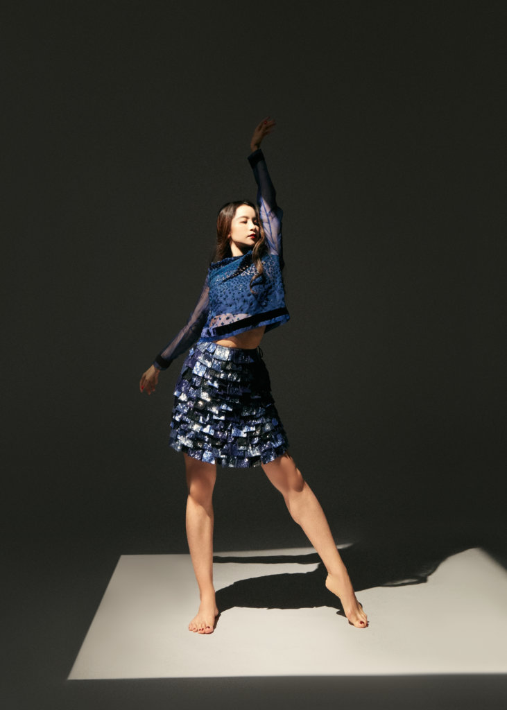 TOP $27,500 /SKIRT $32,000 ALL BY EMPORIO ARMANI